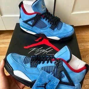 "Jordan 4 ""Powder Blue"""